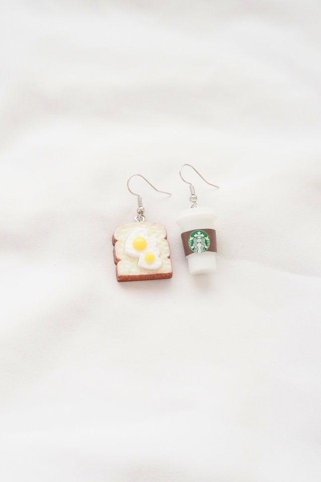 Breakfast Set Earrings