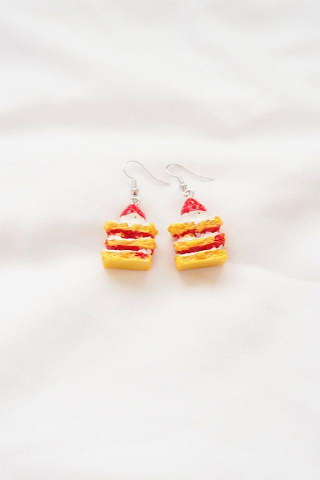 Strawberry Tart Earrings