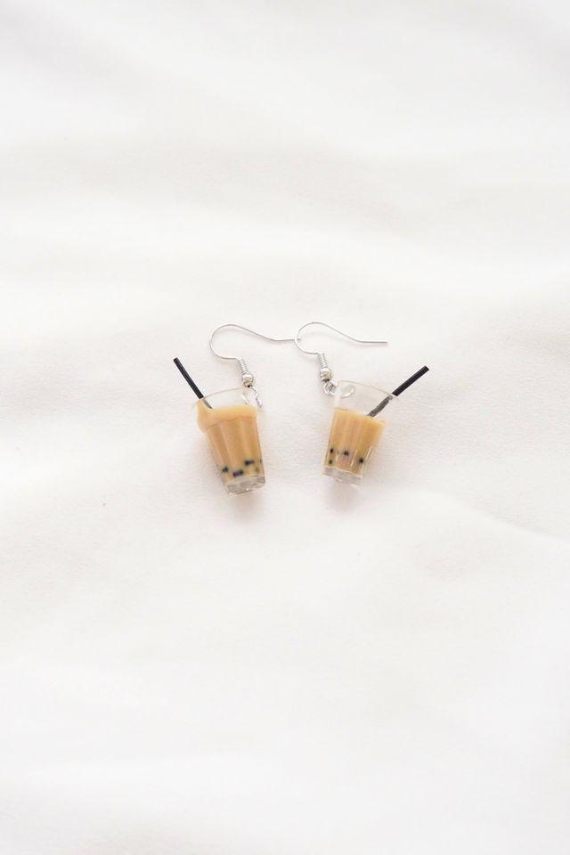 Bubble Tea Earrings