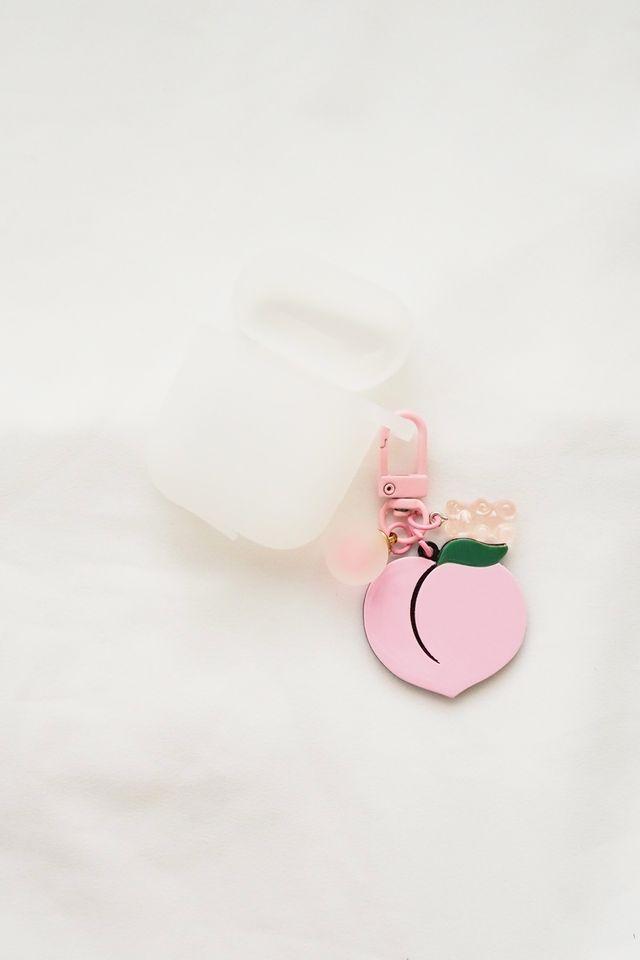 Peach Airpods Case