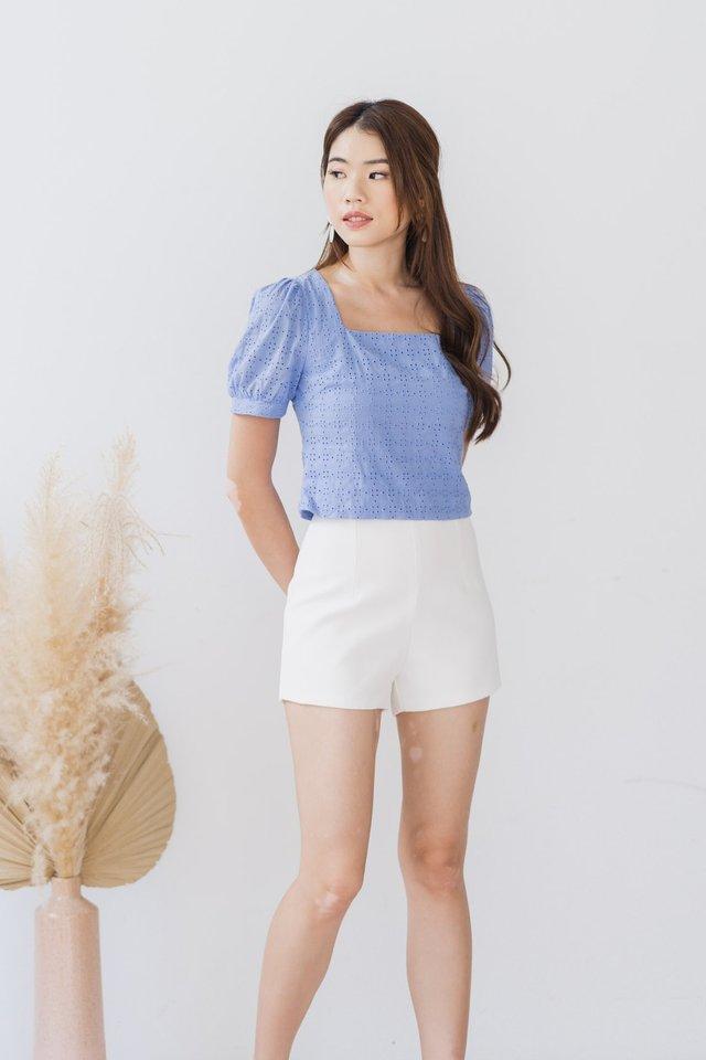 Basic Shorts in White