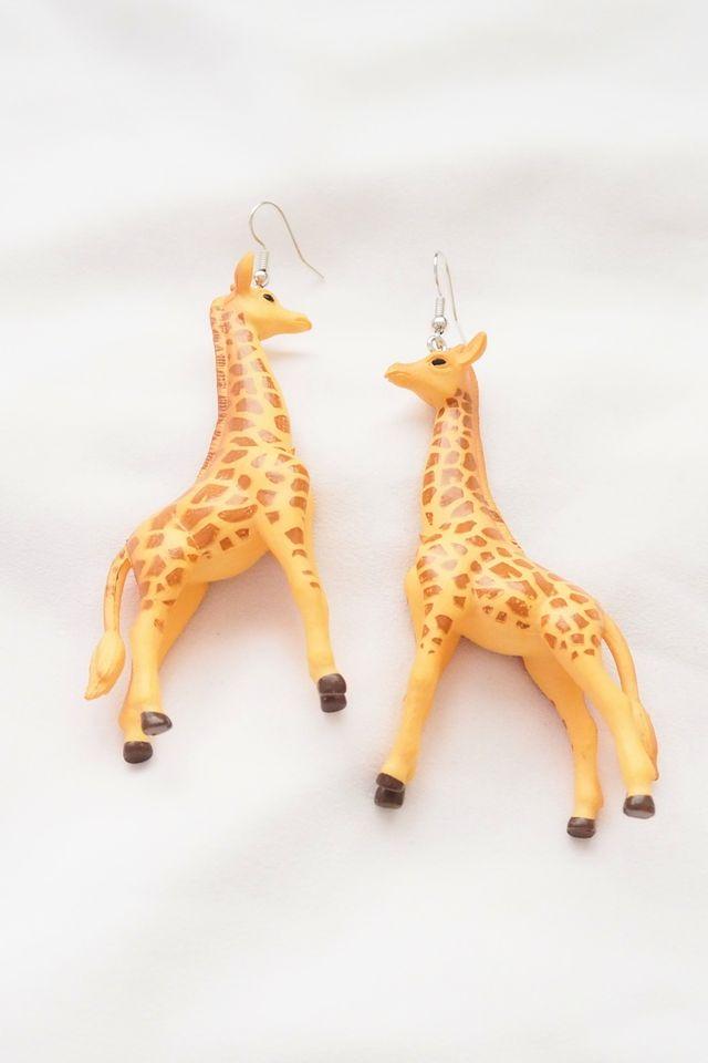 Mummy Giraffe Earrings