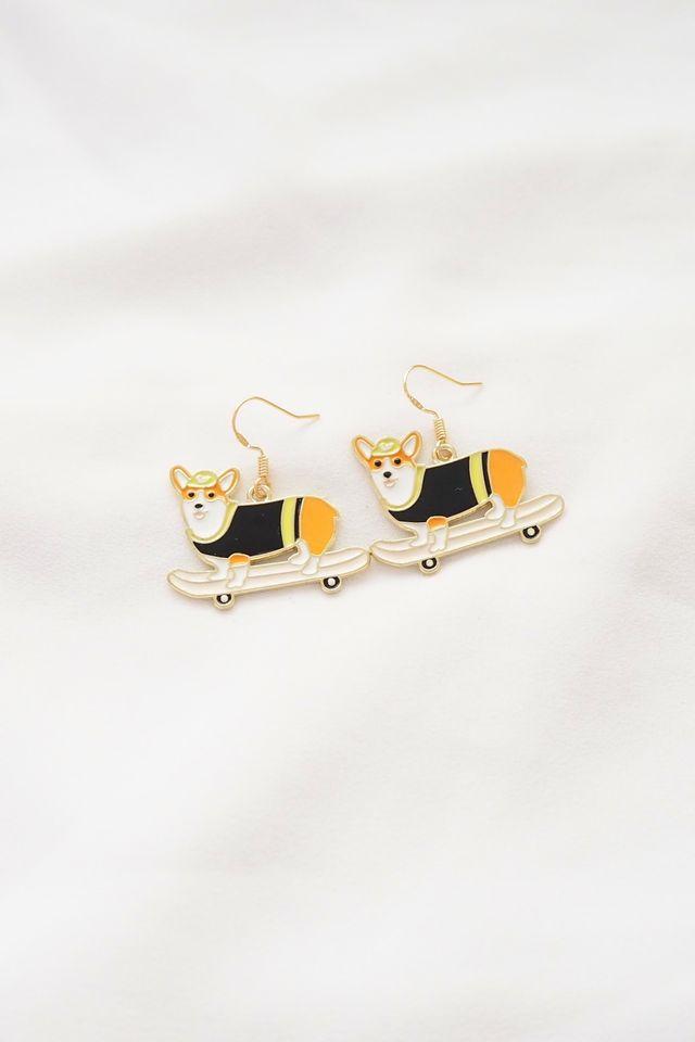 Hip Dog Earrings