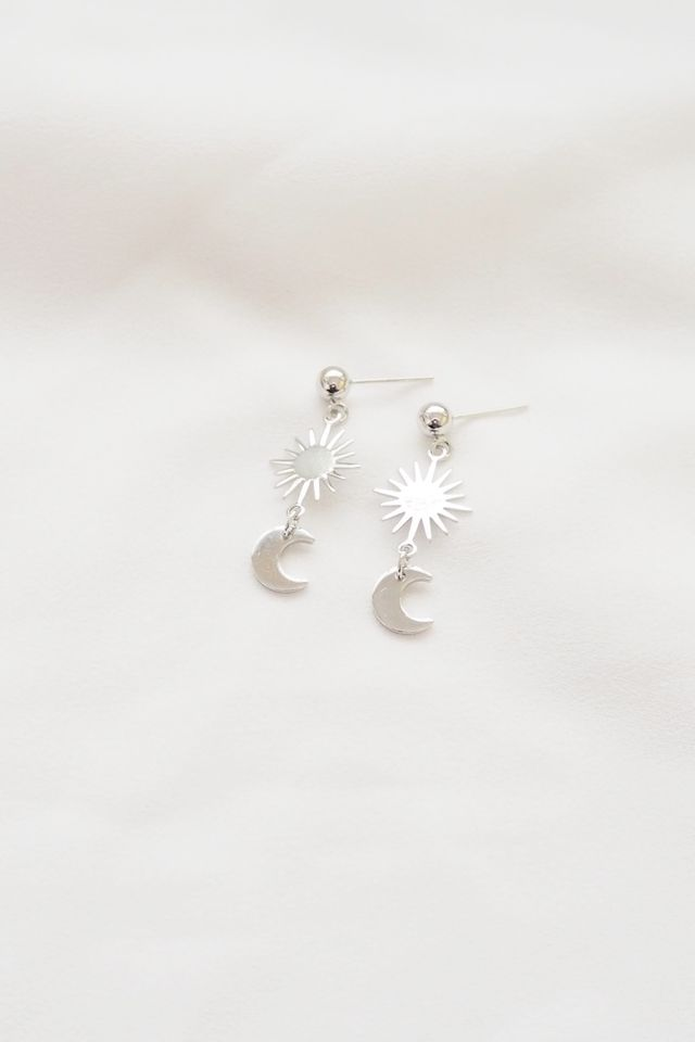 Starburst Earstuds in Silver